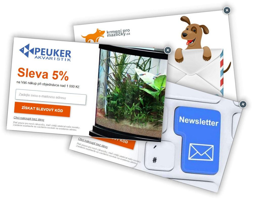 ... grafikou na slevu při nákupu zboží ve Vašem obchodě. Přidejte si na své  stránky vyskakovací okno pro zadání emailové adresy návštěvníka Vašich  stránek a ... 361e7f96666